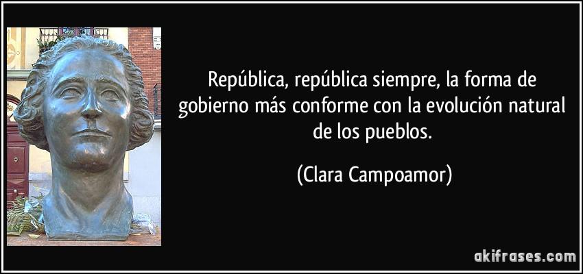 República República Siempre La Forma De Gobierno Más