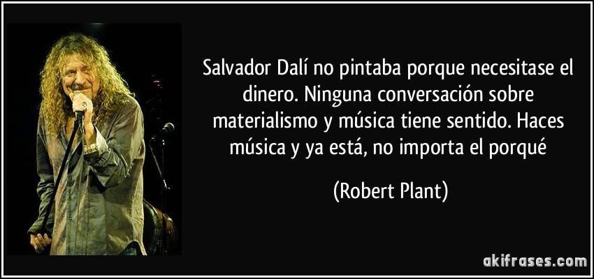 Salvador Dalí No Pintaba Porque Necesitase El Dinero Ninguna