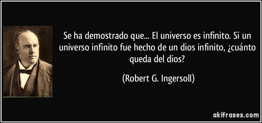 Se Ha Demostrado Que El Universo Es Infinito Si Un