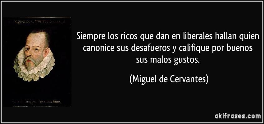 Siempre Los Ricos Que Dan En Liberales Hallan Quien Canonice