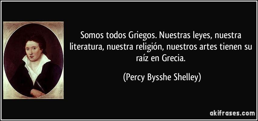 Somos Todos Griegos Nuestras Leyes Nuestra Literatura