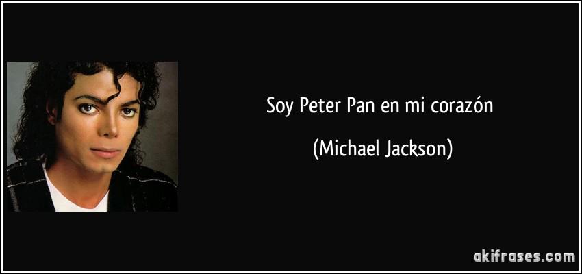 Soy Peter Pan En Mi Corazón Aki Frases