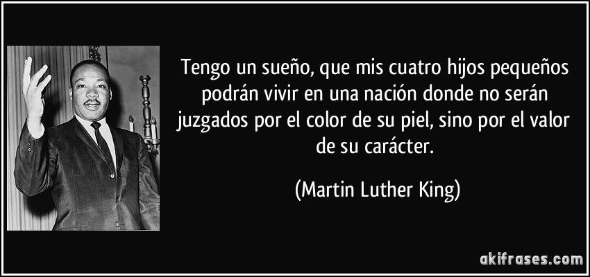 Tag Yo Tengo Un Sueno Martin Luther King Poema Resumen