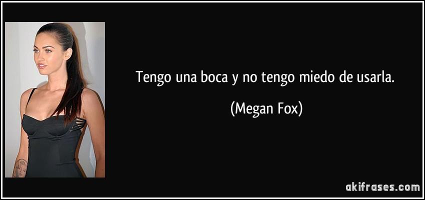 frases de megan fox