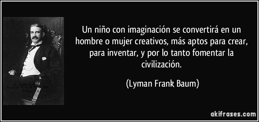 Un Niño Con Imaginación Se Convertirá En Un Hombre O Mujer