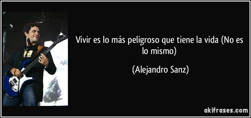 cancion no es lo mismo de alejandro sanz:
