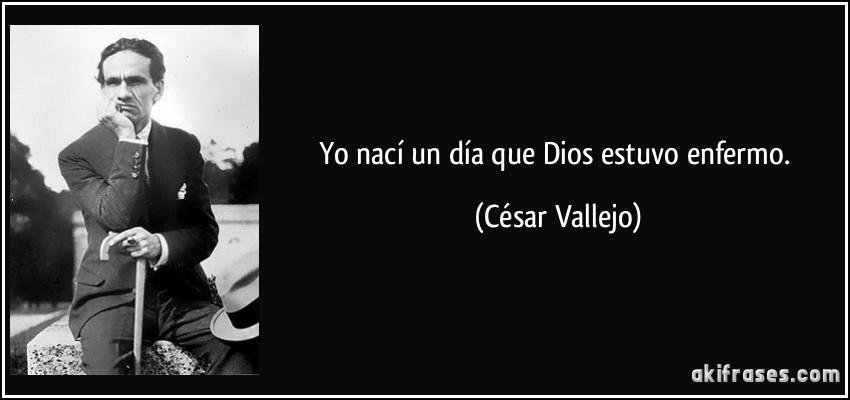 Cesar Vallejo dios